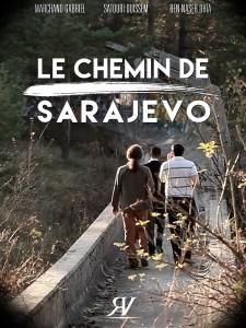 affiche le chemin de sarajevo